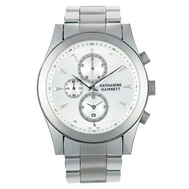 info for d9268 a0b44 KATHARINE HAMNETT キャサリン ハムネット クロノグラフ 腕時計 ...