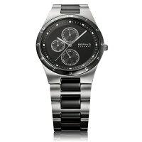 BERINGベーリングLinkCeramicリンクセラミック腕時計【国内正規品】メンズブラック32339-742【送料無料】【き手数料無料】【_包装】
