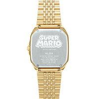SEIKOALBAセイコーアルバキャラクタースーパーマリオブラザーズファミコンデザイン流通限定腕時計メンズACCK711