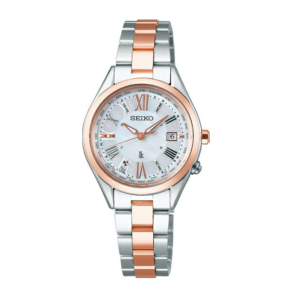 LUKIA ルキア SEIKO セイコー 電波ソーラー Lady Diamond レディダイヤ 【国内正規品】 腕時計 レディース SSQV040