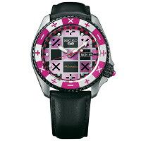 ジョジョの奇妙な冒険黄金の風コラボモデルトリッシュ・ウナSEIKO5スポーツ1000本限定腕時計自動巻SBSA033