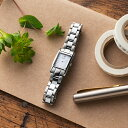 TiCTACオリジナル SPICA スピカ Square Solar スクエアソーラー 腕時計 レディース SPI53-SV/M 【送料無料】