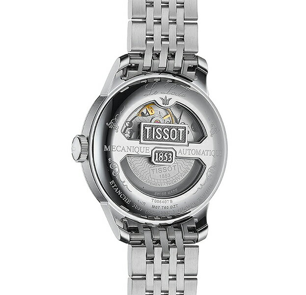 TISSOT ティソ LE LOCLE Powermatic 80 ル・ロックル パワーマティック 80  T-クラシック 機械式自動巻 スイス製 腕時計 メンズ    T0064071105300
