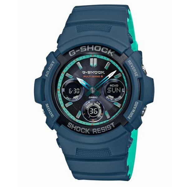 腕時計, メンズ腕時計 G-SHOCK CASIO AWG-M100SCC-2AJF