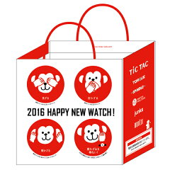 【数量限定】受注開始しました! 2012 TiCTAC 福袋【数量限定】 腕時計3本入り!! WEB-HAPPYBAG