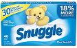 【Snuggle】スナッグル/スナグル・ブルースパークル乾燥機用柔軟シート40枚入(パッケージに色ムラ、剥げがある箇所がございます。御了承頂きました上で御注文下さいますようお願い致します。)