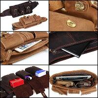 バッグ全体総計11ポケット、究極な実用性!