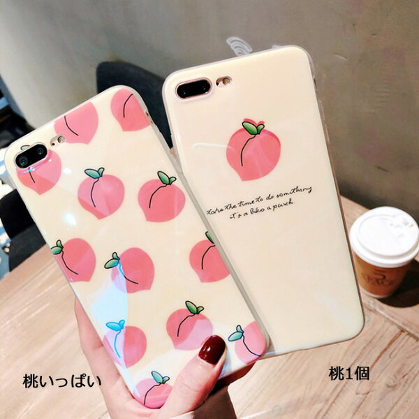 1f03480bd2 ... Xs iphonex iphone xs max xr xs xsmax x 8 8plus 7 7plus iphone6 iphone6s  iphone6plus iphone6splus 海外 かわいい 桃 もも スマホケース iphone plus 可愛い ...