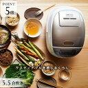 タイガー 圧力IH炊飯器 JPK-A100W 5.5合 ホワ...