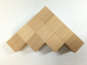 30×30×30ミリの立方体です。