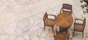 ソルンフォーヘン 乱形石 洋風 石灰石 約1平米/ケース販売です。洋風建築物用建材です。床...