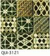 緑 50角 デザインタイル モザイクタイル 磁器 インディア シート(36粒)販売。 アンティーク イスラム風の絵タイル。壁、床(キッチン カウンター・テーブル・浴室) のDIYリフォームにお勧め。アジアンテイスト