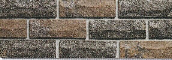 レトロレンガタイル二丁掛ブリックこげ茶寸法203x64x18mmテラコッタ風内壁、外壁(エントランス・玄関・塀・プランター)のDIYリフォームにお勧めです。