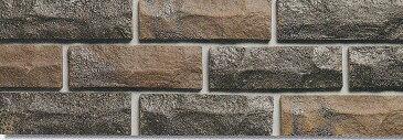 レトロ レンガ タイル こげ茶色(はつり面・二丁掛)ブリックタイル 1枚からの販売 アンティーク(テラコッタ)な、内壁(ベランダ、玄関、店舗・リビング)外壁(煉瓦壁、門扉、塀)にお勧めです。 DIYリフォーム向きの、壁用 ブリック タイル (建材・壁タイル)です