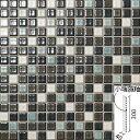 カレイドグレイズ 20mm角片面小端施釉ネット張り IM-2060P1...