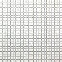 プロ用 10mm角モザイクタイル24列×24列 裏ネット張り NET-10K-01ホワイトプロ用 10mm角モザイ...