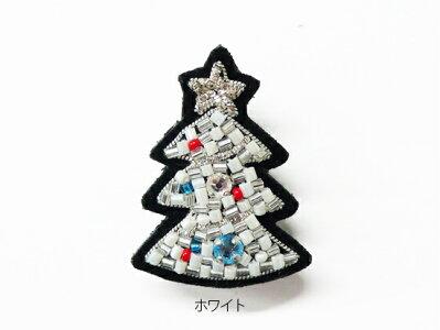 チリアクリスマスツリーのブローチ