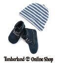 【公式】ティンバーランド 【WEB限定】インファント クリブ ブーティ & ハット - ネイビー Timberland