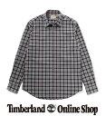 【公式】ティンバーランド Timberland アウトレット メンズ 長袖 チェック シャツ 紺 赤 A2569 綿100% コットン オーガニック チェック カジュアル トップス チェックシャツ 綿 綿100