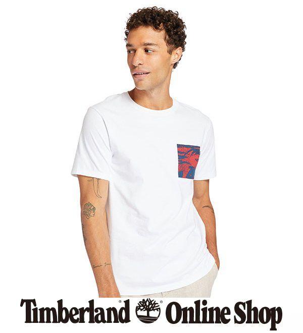 半袖 プリント ポケット Tシャツ