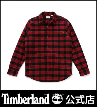 【アウトレット】ティンバーランド timberland メンズ 長袖 マスコマリバー フリース ラインド オーバーシャツ Timberland