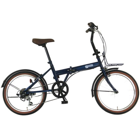 プロギアデコレーション20インチ外装6段変速付充実装備とお洒落デザインで乗りやすい折り畳み自転車激安価格シードリーム折りたたみ自転車C.DREAMPROGEARブランド20型6段ギア付