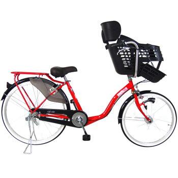 【完売】【3人乗り対応モデル】C.Dreamスイートママ三人乗り対応子供乗せ自転車22・26インチ3段変速付LEDオートライト付シードリーム1歳から対応の子供乗せを装備したDX子供乗せ専用自転車CDREAMブランド子供乗せ自転車