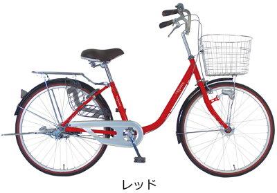 【防犯登録サービス 後ろ子供乗せセット】C.Dream 子供乗せ自転車 ママチャリ ヴェロア RBC-009S3付 26インチ 変速なし 【整備士が自転車の組立整備をして発送します】