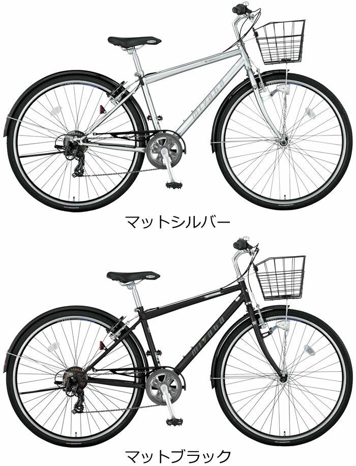 【楽天市場】ミヤタ SJクロス 27インチ 外装7段変速付 オート ...