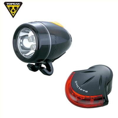 【自転車ライト】TOPAEKトピークHighLiteCombo2ハイライトコンボ2ヘッドライト&テールライトのセットブラックLPF09300
