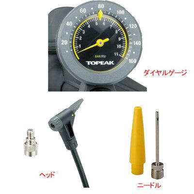 【自転車ポンプ】TOPAEKトピークフロアーポンプJoeBlowMaxHP2ジョーブローマックスHP2PPF05900-04M