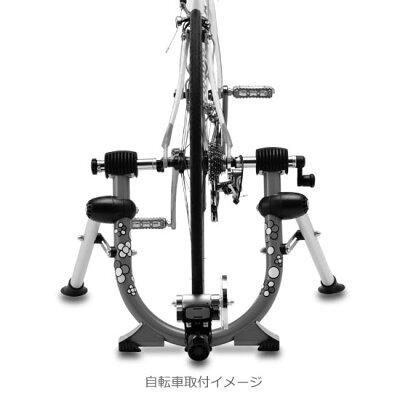サイクルトレーナーミノウラQuattro-cクワトロ後輪固定タイプ自転車トレーニング