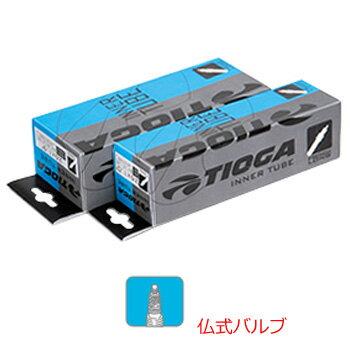 TIOGA タイオガ Inner Tube (French Valve) インナーチューブ 仏式 29×1.80〜2.35