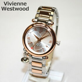 VivienneWestwood(ヴィヴィアンウエストウッド)腕時計VV006RSSLORBシルバー/ピンクゴールド時計レディースヴィヴィアンタイムマシン【送料無料(※北海道・沖縄は1,000円)】【楽ギフ_包装選択】(vw-vv006rssl)