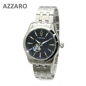 AZARRO(アザロ)腕時計AZ2260.16BM.000CoastlineOpenViewBlack/Metalブラックシルバー時計メンズ自動巻きブレス【送料無料(※北海道・沖縄は1,000円)】(az2260-16bm-000)