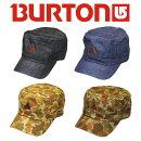 SALE!Burton(バートン)CAPキャップJEEPCAP269239DENIMGREENBEIGEBLACK帽子※返品不可