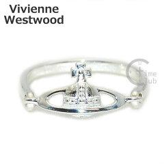 Vivienne Westwood (ヴィヴィアンウエストウッド) 指輪 ヴァンドームリング VENDOME RING シルバー SR112/1 XS S M アクセサリー レディース 【送料無料(※北海道・沖縄は1,000円)】