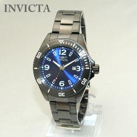 INVICTA(インビクタ)腕時計時計14316ProDiverガンメタル/ブルーメンズブレスインヴィクタ【送料無料(※北海道・沖縄は1,000円)】