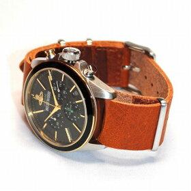 VivienneWestwood(ヴィヴィアンウエストウッド)腕時計VV069BKBRCAMDENLOCK2クロノグラフブラウン/シルバー/ゴールド時計メンズヴィヴィアン【送料無料(※北海道・沖縄は1,000円)】