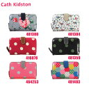 Cath Kidston(キャスキッドソン) 二つ折り財布 小銭入れ付...