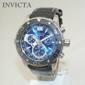 INVICTA(インビクタ)腕時計時計17374Reserveリザーブブラックレザー/シルバー/ブルーメンズインヴィクタ【送料無料(※北海道・沖縄は1,000円)】