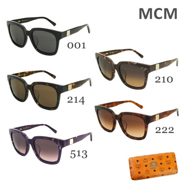 眼鏡・サングラス, サングラス MCM uv MCM610SA 001 210 BROWN 214 HAVANA 222 LIGHT HAVANA 513 PURPLE 1,000
