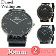 Daniel Wellington (ダニエルウェリントン) 時計 腕時計 36mm ナイロンベルト DW00100150 DW0010...