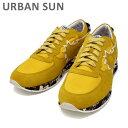 アーバンサン スニーカー ANDRE 62 イエロー/カモ URBAN SUN メンズ シューズ 靴 【送料無料(※北海