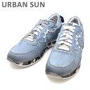 アーバンサン スニーカー ANDRE 220 デニム/カモ URBAN SUN メンズ シューズ 靴 ユーズド加工 【送