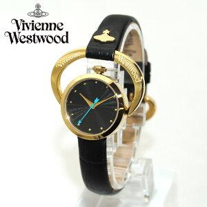 Vivienne Westwood (ヴィヴィアンウエストウッド) 腕時計 VV082BKBK ブラック/ゴールド 時計 レディース ヴィヴィアン タイムマシン 【送料無料(※北海道・沖縄は1,000円)】【楽ギフ_包装選択】