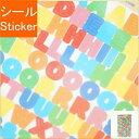 RYU-RYU リュリュ シール サークルシール・Circle Seals/アルファベット シール帳 福袋 スケジュール デコ ステッカー ダイアリー