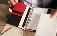 Ashfordアシュフォードシステム手帳バイブルサイズ6穴ブリッジBIBLE16mmジッパー