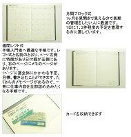 ARTEMISアーティミス11年2月開始(4月始まり対応)とじ手帳A6サイズDL−レコード