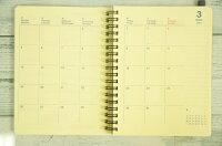 【★予約★2月中旬より発送】DELFONICSデルフォニックス2016年3月始まり(2016年4月始まり)手帳月間式(月間ブロック)B6ロルバーンダイアリーLシールデザイン文具スケジュール帳手帳のタイムキーパー